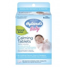Hyland's Baby Calming Tablets Melatonina Natural Relief of Occasional Sleeplessness, Fussiness, And Irritability