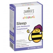 Zarbee's Naturals Melatonina Children's Sleep Chewable Tablet with Melatonin