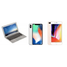 Rifa 4 -  iPhone XS, XR, 8 Plus ou MacBookAir