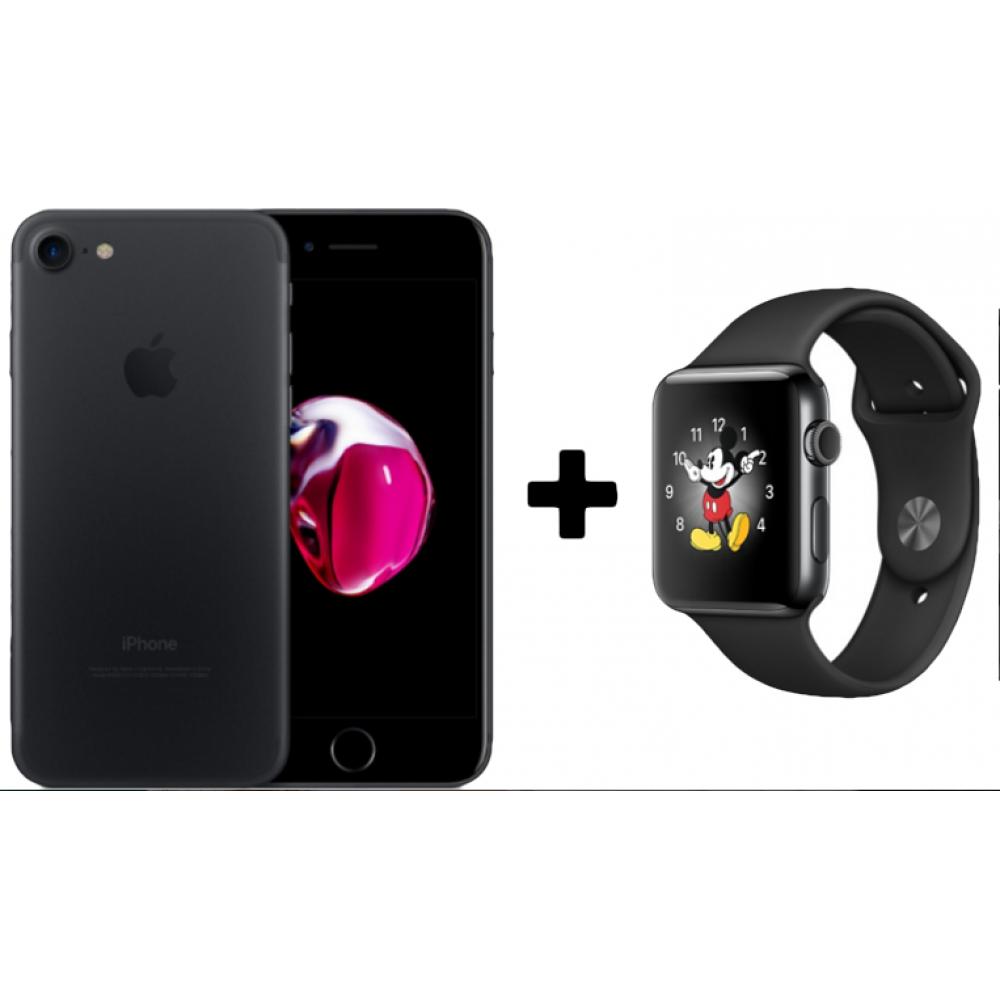 Rifa - 2 em 1 - iPhone 7 128GB e Apple Watch 38mm Aço Inox - Seminovo