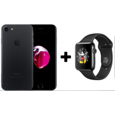 Rifa - 2 em 1 - iPhone 7 128GB e Apple Watch 38mm Aço Inox - Seminovo