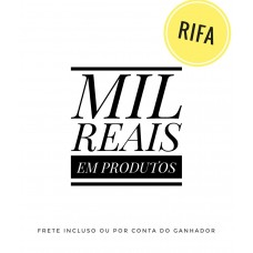 Rifa 3 - AirPods, Apple Watch ou Vale Compra R$1.000, (Mil Reais)