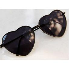 Óculos de Coração Preto BYDI