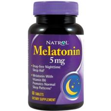 Natrol Melatonin 5 mg Capsulas