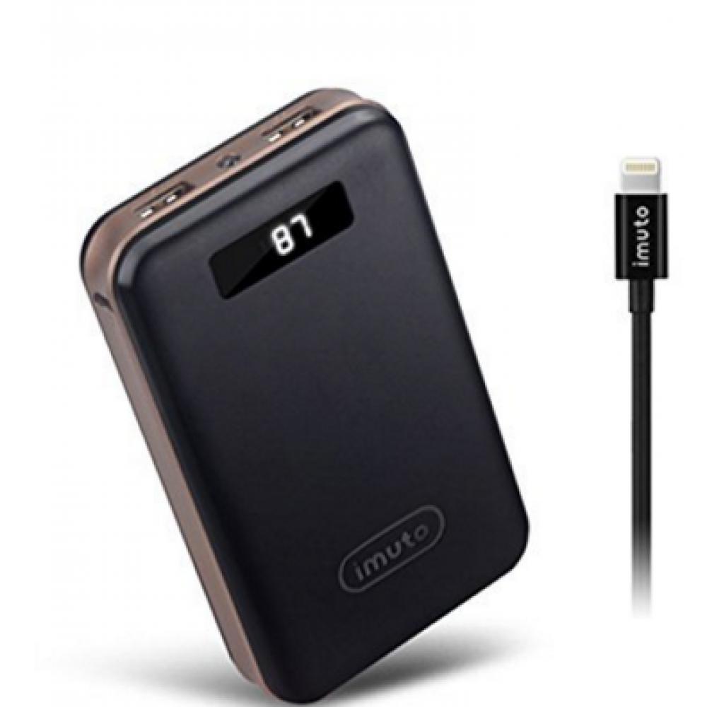 Carregador IMUTO Portátil com 2 saídas USB