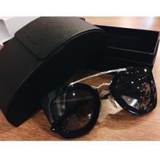 Prada - Oculos PR 09QS - Preto/Prata