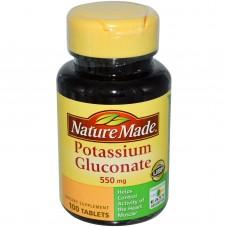 Potassium Gluconate 550mg