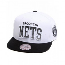 Bone Mitchell & Ness NBA Brooklyn Nets Hwc Arch Gradient Snapback Hat