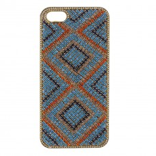Case Triangulos Azul - (iPhones, Samsungs e outros)
