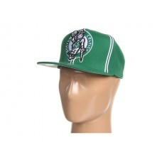 Bone Mitchell & Ness Boston Celtics XL Logo Double Soutache Snapback