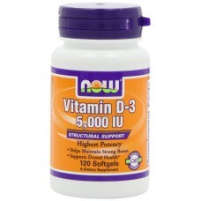 Now Foods Vitamina D3 - 5.000IU