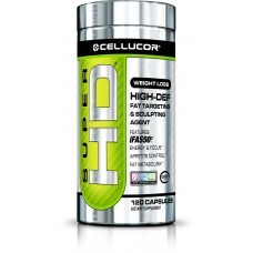 Cellucor Super HD Suplemento Termogênico 120 Cápsulas