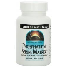 Source Naturals PHOSPHATIDYLSERINE (500MG)