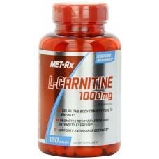 MET-Rx L-Carnitine 1000mg, 180 Caps