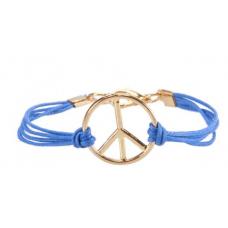 Pulseira Simbolo da Paz (Azul Royal)