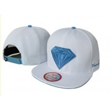 Bone Diamond SUPPLY CO Snapback ( White/Blue)