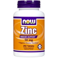 Now Foods Gluconato de Zinco 50 mg