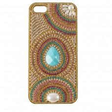 Case Colorida Gota Turquesa - (iPhones, Samsungs e outros)