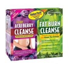Applied Nutrition Kit Detox 14 Day Acai Berry Cleanse + 14 Day Fat Burn Cleanse