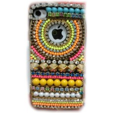 Capa Strass (Cristal) iPhone 4/4S Cod. CA7