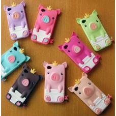 Capa iPhone 4|4S e 5|5S Porquinho (Porco Rei)