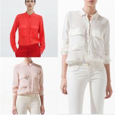 Camisa Social Metal Button (3 cores - Estilo Zara)