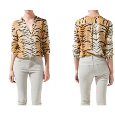 Camisa Animal Print Tigre