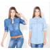 BYDI Camisa Jeans Azul (Modelos)