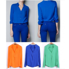 Blusa Candy Colors (Estilo Zara)