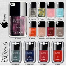 Capa Esmalte Chanel Nail Polish (Iphones e Galaxys)