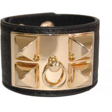 Bracelete Hermès Inspired Preto