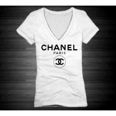 Camiseta Chanel Paris Branca