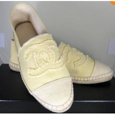 Alpargata Chanel - Amarela