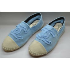 Alpargata Chanel - Azul