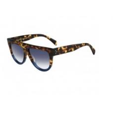 Celine - Oculos Shadow - Celine 41026/S - Tartaruga | Azul