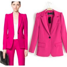 Blazer Rosa Zara Inspired