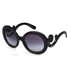 Prada - Oculos PR27NS Redondo Preto