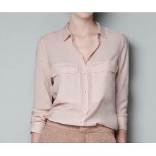 Camisa Social Metal Button - Goiaba