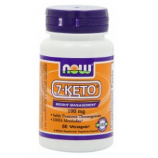 Now Foods 7-Keto 100 mg 60 capsulas