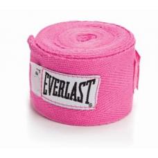 Everlast 4455-3 3-Pk. Hand Wraps - Bandagem Rosa