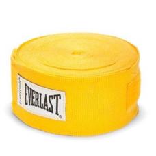 Everlast 4455-3 3-Pk. Hand Wraps - Bandagem Amarelo
