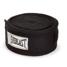 Everlast 4456B Hand Wraps - Bandagem Preta