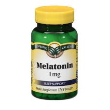 Spring Valley Melatonina 1 mg - 120 Capsulas