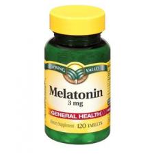Spring Valley Melatonina 3 mg - 120 Capsulas