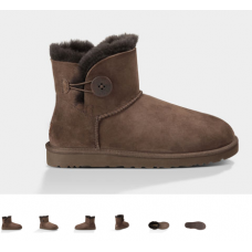 Bota UGG Australia MINI BAILEY BUTTON (8 cores)