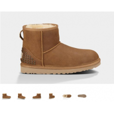 Bota UGG Australia CLASSIC MINI LEATHER STUDS (2 cores)