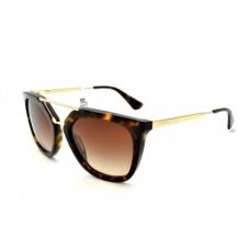 Prada - Óculos PR 13QS 2AU6S1 Havana / Brown Gradient