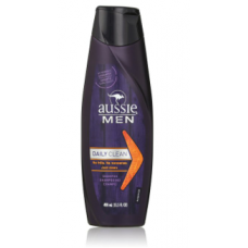 Aussie Shampoo Daily Clean Men 13.5 oz - Laranja