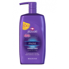 Aussie Moist Shampoo with Pump 29.2 Fl Oz