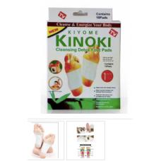 Kinoki - Cleansing Detox Foot Pads Patches/ Adesivos Desintoxiacantes Para Os Pes